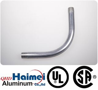 ul 90 degree 6063 aluminum elbow