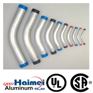 ul 6063 rigid aluminum 45 deg elbow