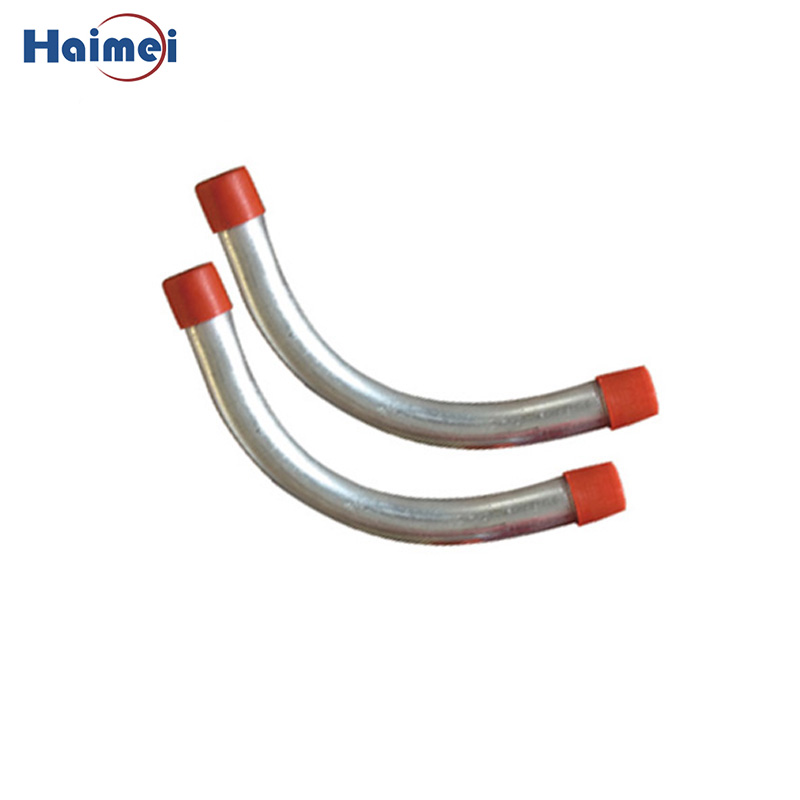 3-1/2 Inch 90 Degree Rigid Aluminum Conduit Elbow